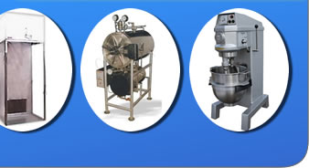 autoclave, leminar flow, sampling chamber, clean room equipments